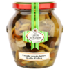 Mixed wild mushrooms in olive oil